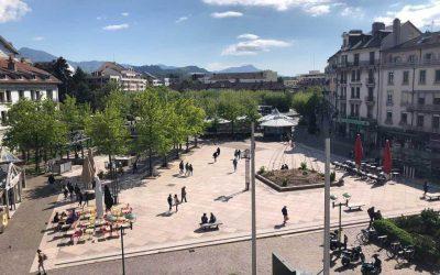 Centre-ville de Thonon, Le Messager
