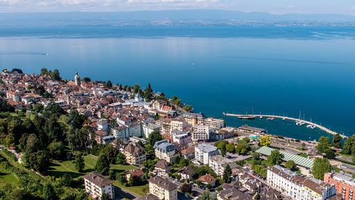 Commerçants à Evian