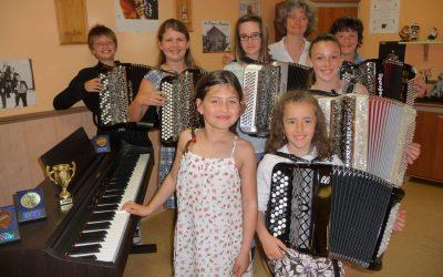 Sylvie Mouraux - Classe de piano et accordéon